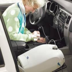 چهار نکته برای استفاده از اکسیژن ساز قابل حمل در اتومبیل